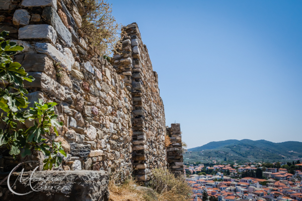 The Venetian castle of Skopelos