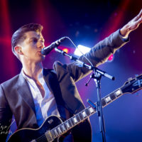 Arctic Monkeys @ Hultsfredsfestivalen Stoxa. Jun 2013